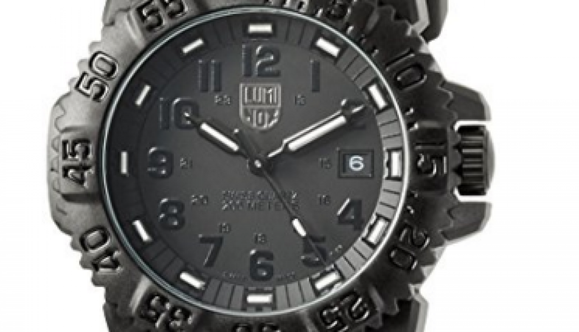 luminox evo navy seal blackout 3051 blackout